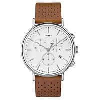 Đồng Hồ Nam Dây Da Timex The Fairfield Chronograph TW2R26700 (41mm)