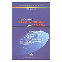 [Download Sách] Phương Pháp Xây Dựng Bề Mặt Cho CAD/CAM