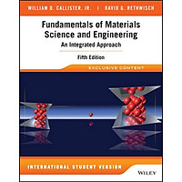 [Download sách] Fundamentals Of Materials Science And Engineering 5E Isv