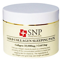 Mặt Nạ Ngủ SNP Gold Collagen Sleeping Pack (100g)