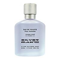 Nước Hoa Nam Jeanne D'urfe Paris Silver Man Eau De Toilette 50ml - PFA01329