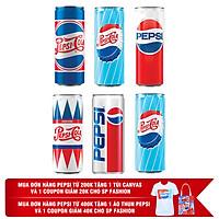 Lốc 6 Lon Nước Ngọt Có Gas Pepsi (330ml /...