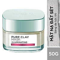 Mặt Nạ Đất Sét L'Oreal Paris Pure Clay Mask Illuminating...