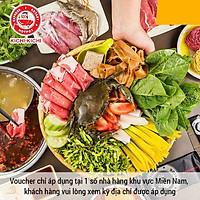 Voucher Sumo BBQ, Kichi Kichi, Gogi House, Vuvuzela, Ashima, Hutong, Crytal Jade, 37Th Street Trị Giá 100k (Chỉ áp dụng tại 1 số nhà hàng khu vực Miền Nam)