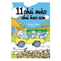 Hình ảnh download sách 11 Chú Mèo Và Chú Heo Con