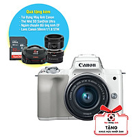 Máy Ảnh Canon EOS M50 + Kit 15-45mm (24.1MP) (Lê Bảo Minh)