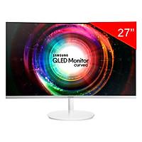 Màn Hình QLED Samsung Siêu Mỏng LC27H711QEEXXV 27 Inch Curved WQHD - Hàng Chính Hãng