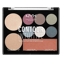 Bảng Mắt Và Tạo Khối NYX Professional Makeup Contour Intuitive Eye and Face