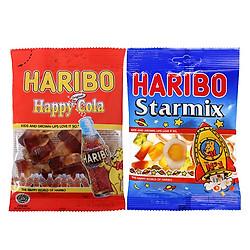 Combo Kẹo Dẻo Haribo 3: Star Mix (80g) + Happy Cola (80g)