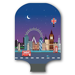 Túi Bọc Vali Chovis TB01 - London