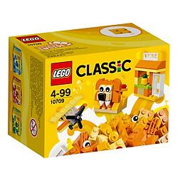 Mô Hình Lego Classic - Lắp Ráp Classic Màu Cam 10709 (60 Mảnh Ghép)
