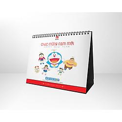 Lịch Bàn Doraemon 2017