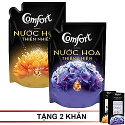 Combo 2 Túi Nước Xả Vải Comfort Hương Nước Hoa SOFIA và BELLA 1.6L