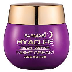 Kem Chống Lão Hóa, Trắng Da Ban Đêm Farmasi Hyacure Age Active Night Cream (50ml) - 1721BAS02
