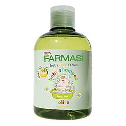 Gel Tắm Gội Trẻ Em Không Kích Ứng Da Olive Baby Shampoo Farmasi 1924POO02 (300ml)