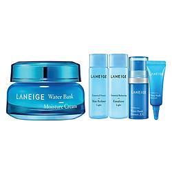 Kem Dưỡng Ẩm Laneige Water Bank Moisture Cream 270283904 (50ml) + Bộ 4 Sản Phẩm Dưỡng Ẩm Laneige Water Bank