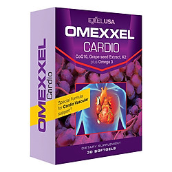 Thực Phẩm Chức Năng Viên Uống Hỗ Trợ Tim Mạch Omexxel Cardio (30 Viên)