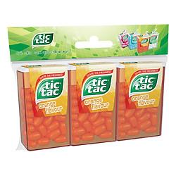 Combo 3 Hộp Kẹo Tic Tac Hương Vị Cam