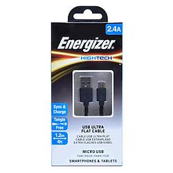 Cáp Sạc Energizer Micro USB Ultra Flat 1.2m