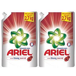Combo 2 Ariel Gel Giặt Đậm Đặc Giữ Hương Downy Túi (1.44L)