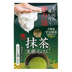 Xà Phòng Rửa Mặt Trà Xanh Cosmetex Roland Cha No Sui Face Soap Matcha (100g)
