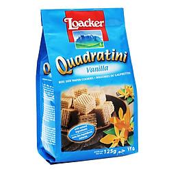 Bánh Xốp Quadratini Vani Loacker (125g)