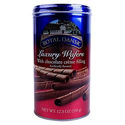 Bánh Quế Royal Dansk Chocolate Hộp Thiếc (350g)