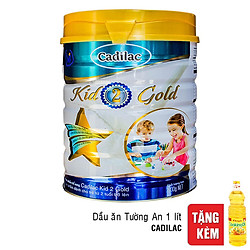 Sữa Cadilac Kid 2 Gold 900g