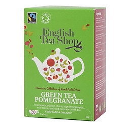 Trà Organic Green Tea Pomegranate English Tea Shop