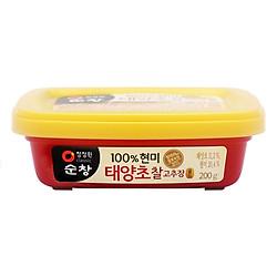 Tương Ớt Gạo Lứt Miwon (200g)