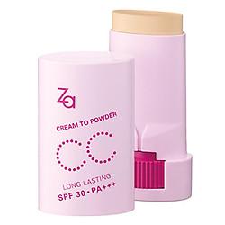 Phấn Nền CC Che Khuyết Điểm Và Ngăn Lão Hóa Dạng Thỏi Za Cream To Powder Cc Stick 8g