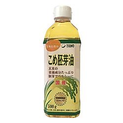 Dầu Mầm Gạo Nhật Bản Tsuno Cao Cấp (500g)