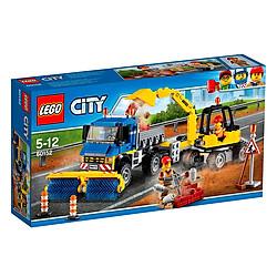 Mô Hình Lego Xe Quét Đường Và Xe Đào Đường 60152 (299 Mảnh Ghép)