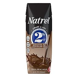 Sữa Tiệt Trùng Natrel 2% Béo Vị Chocolate Reduced Fat Chocolate Milk (236ml)