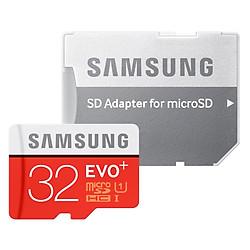 Thẻ Nhớ Micro SD Samsung Evo Plus 32GB Class 10 - 80MB/s (Kèm Adapter)