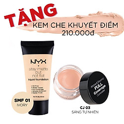 Kem Nền NYX Stay Matte But Not Flat Liquid Foundation (35ml)