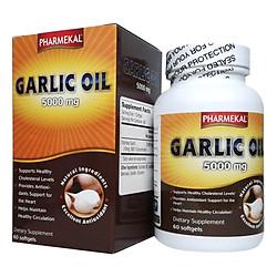 Thực Phẩm Chức Năng Viên Uống Tinh Dầu Tỏi Pharmekal Garlic Oil (Hộp 60 Viên)