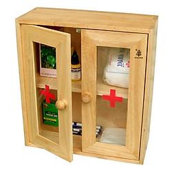Tủ Thuốc Cửa Mica Gỗ Đức Thành - 40241