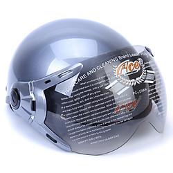 Mũ Bảo Hiểm Nửa Đầu Có Kính ACE A31K (Bóng) - Xám