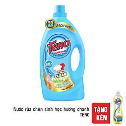 Nước Giặt Trung Tính Tero (1.8Kg) - Tặng Nước Rửa Chén Sinh Học Tero Hương Chanh (700g)
