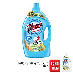 Nước Giặt Trung Tính Tero (3.8Kg) - Tặng Nước Xả Tero Hương Mùa Xuân (1.8Kg)