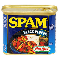 Thịt Hộp Hormel Spam Black Pepper 340g