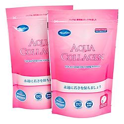 Combo 2 Thực Phẩm Chức Năng Aqua Collagen Nguyên Chất Từ Cá Bổ Sung Collagen Peptide Sinh Học Cho Cơ Thể (100g / Túi)