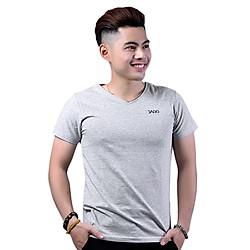 Áo Thun Nam Cổ Tim Jago AT004XAM - Xám