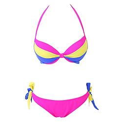 Bikini 2 Mảnh Quần Thắt Nơ Monica BI 1011 Phối 3 Màu - Hồng - Freesize