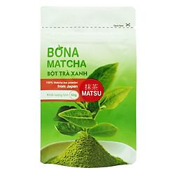 Bột Trà Xanh Nhật Bản Bona Matcha - Matsu 50g