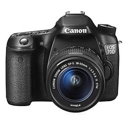 Máy ảnh Canon 70D Và Lens 18-55 STM (Lê Bảo Minh)