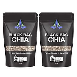 Combo 2 Gói Thực Phẩm Chức Năng Hạt Chia Úc Blackbag Chia 500g