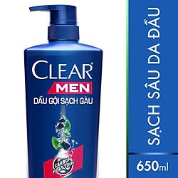 Dầu Gội Clear Men Sạch Sâu (650g) - 21111284