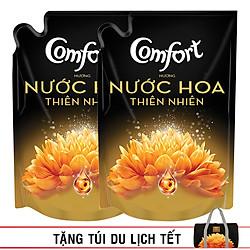 Combo 2 Túi Nước Xả Vải Comfort Hương Nước Hoa SOPHIA 1.6L